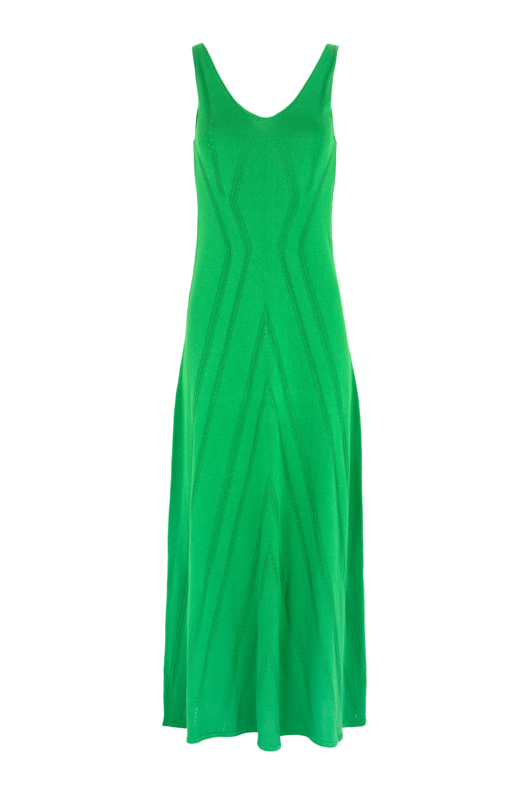 Long Dress Green