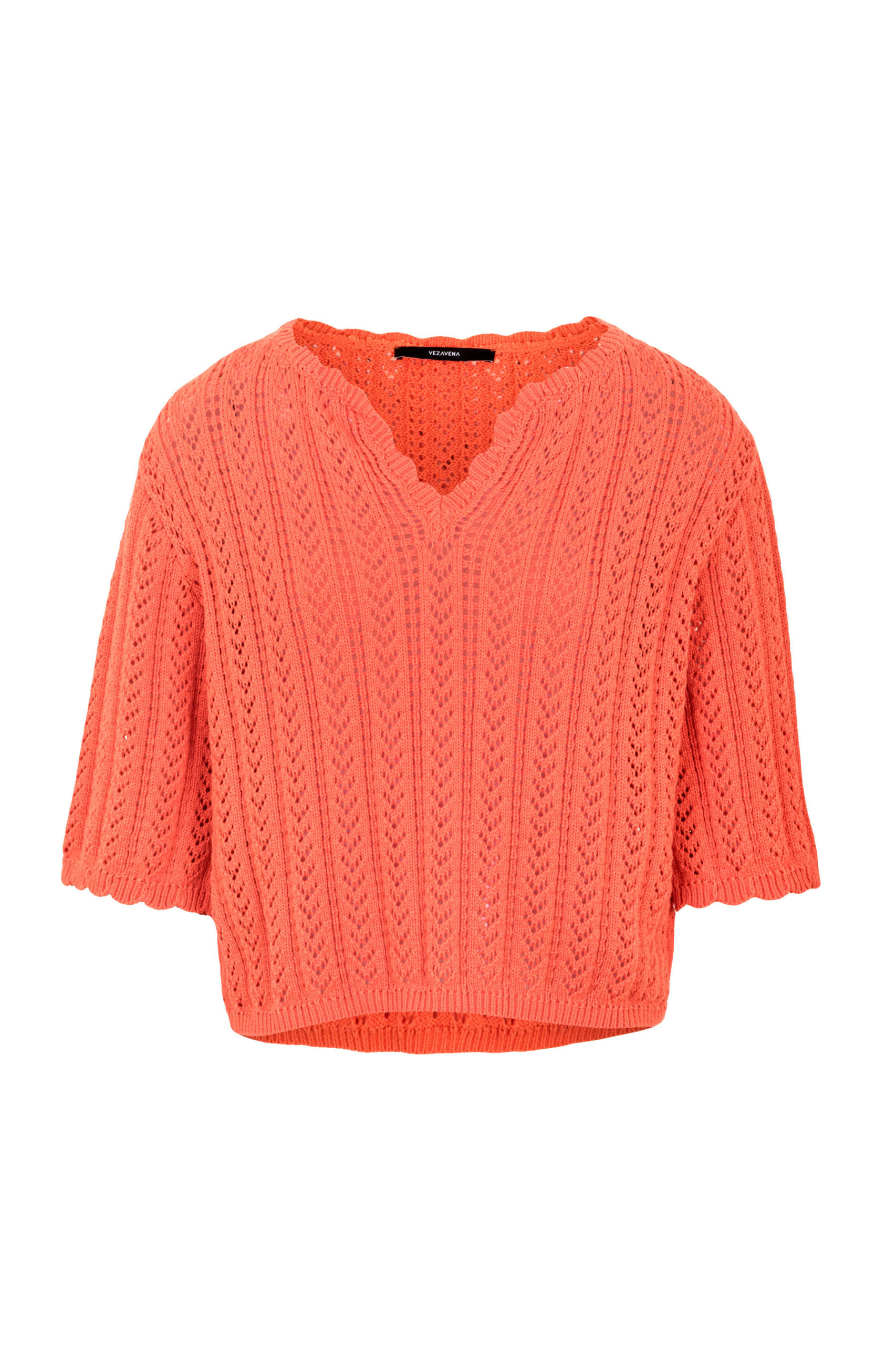 Sweater Top Coral