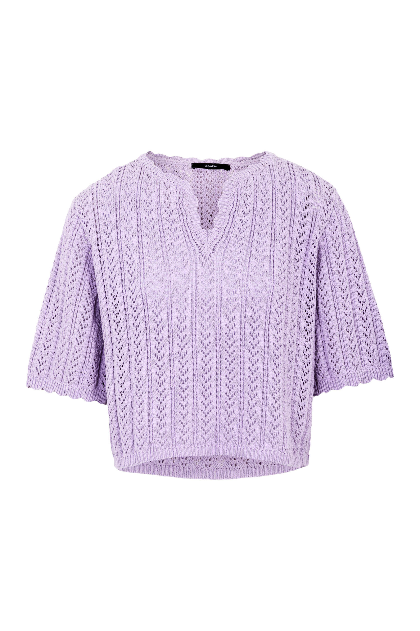 Sweater Top Orchid
